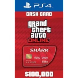 Digital Grand Theft Auto Online: The Red Shark Cash Card PS4 Download Now At GameStop.com!
