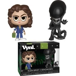 VYNL: Alien 40th Anniversary Xenomorph and Ripley with Tracker found on Bargain Bro India from Game Stop US for $7.97