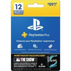 PlayStation Plus 1 Year Membership - MLB Bonus