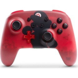 PowerA Enhanced Wireless Controller for Nintendo Switch - Mario Silhouette Available At GameStop Now! found on GamingScroll.com from Game Stop US for $39.99
