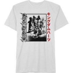 Hybrid Promotions, LLC Kingdom Hearts Metal Kanji T-Shirt Available At GameStop Now!