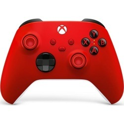 Microsoft Xbox Series X Pulse Red Controller Xbox Series X Accessories Microsoft GameStop found on Bargain Bro Philippines from Game Stop US for $64.99