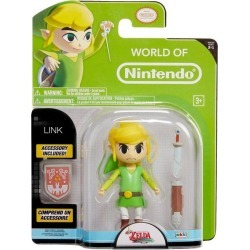 The Legend of Zelda: Wind Waker Link World of Nintendo Action Figure found on Bargain Bro India from Game Stop US for $11.99