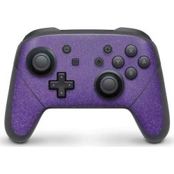 Diamond Purple Glitter Controller Skin for Nintendo Switch Pro Nintendo Switch Accessories Nintendo GameStop found on Bargain Bro Philippines from Game Stop US for $14.99