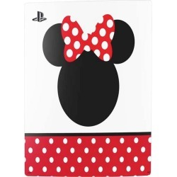 Minnie Mouse Symbol Console Skin for PlayStation 5 Digital Edition PS5 Accessories Sony GameStop found on GamingScroll.com from Game Stop US for $19.99