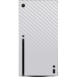 White Carbon Fiber Console Skin for Xbox Series X found on Bargain Bro from Game Stop US for USD $18.99