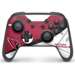 NFL Arizona Cardinals Controller Skin for Nintendo Switch Pro Nintendo Switch Accessories Nintendo GameStop found on Bargain Bro Philippines from Game Stop US for $14.99