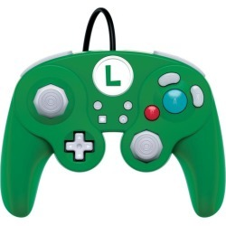 Nintendo Switch Super Smash Bros. Ultimate Luigi Edition Wired Fight Pad Pro Controller found on GamingScroll.com from Game Stop US for $24.99