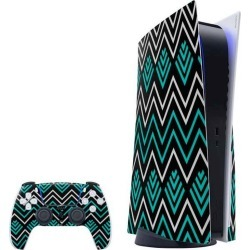 Techno Chevron Skin Bundle for PlayStation 5 PS5 Accessories Sony GameStop found on Bargain Bro Philippines from Game Stop US for $39.99