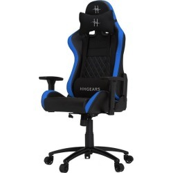 HHGears XL500 Game Chair Black Blue Available At GameStop Now!