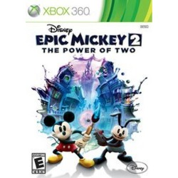 Disney Epic Mickey 2: The Power of Two Pre-owned Xbox 360 Games Disney Interactive Studios GameStop found on Bargain Bro India from Game Stop US for $14.99