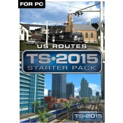 Dovetail Games Digital Train Simulator 2015 - US Routes Starter Pack PC Download Now At GameStop.com!
