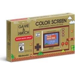 Game and Watch: Super Mario Bros. found on GamingScroll.com from Game Stop US for $49.99