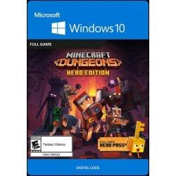 Digital Minecraft Dungeons Hero Edition PC Games Microsoft GameStop