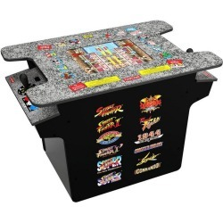 Arcade1UP Street Fighter ll Head to Head Gaming Table Pre-Order At GameStop Now!