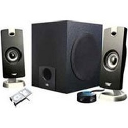 CA-3090 Multimedia Speaker System Cyber Acoustic Available At GameStop Now!