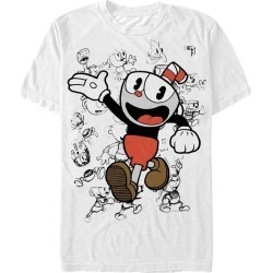 Cuphead Sketched Up T-Shirt