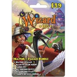 Digital Wizard101 Heavenly Palace Bundle Card InComm GameStop