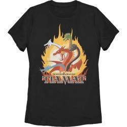 Dungeons and Dragons Tiamat Ladies T-Shirt Fifth Sun GameStop
