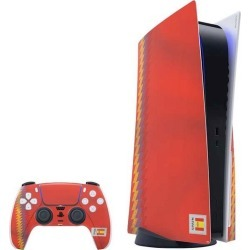 Countries of the World Spain Soccer Flag Skin Bundle for PlayStation 5 PS5 Accessories Sony GameStop found on GamingScroll.com from Game Stop US for $31.99