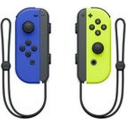 Nintendo Switch Joy-Con (L)/(R) Neon Yellow/Blue Nintendo Switch Accessories Nintendo GameStop