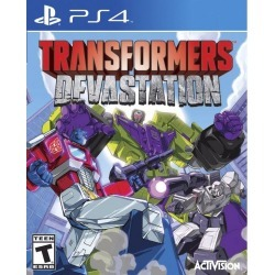 Activision Transformers Devastation PS4 Available At GameStop Now! found on Bargain Bro India from Game Stop US for $19.99