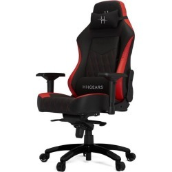 HHGears XL800 Game Chair Black Red Available At GameStop Now!