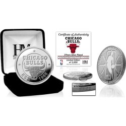 NBA Chicago Bulls Silver Coin Mint Highland Mint GameStop found on Bargain Bro from Game Stop US for USD $22.79