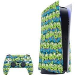 Toy Story Alien Collage Skin Bundle for PlayStation 5 found on Bargain Bro from Game Stop US for USD $30.39