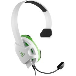 Xbox One Recon White Wired Chat Gaming Headset