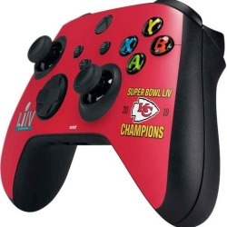 NFL Kansas City Chiefs Super Bowl LIV Champions Controller Skin for Xbox Series X Xbox Series X Accessories Microsoft GameStop found on Bargain Bro Philippines from Game Stop US for $14.99