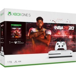 Microsoft Xbox One S NBA 2K20 Bundle 1TB Available At GameStop Now! found on Bargain Bro Philippines from Game Stop US for $299.99