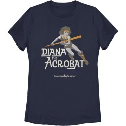 Dungeons and Dragons Diana the Acrobat Action Ladies T-Shirt Fifth Sun GameStop