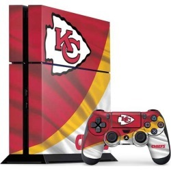 NFL Kansas City Chiefs Skin Bundle for PlayStation 4 PS4 Accessories Sony GameStop found on Bargain Bro Philippines from Game Stop US for $39.99