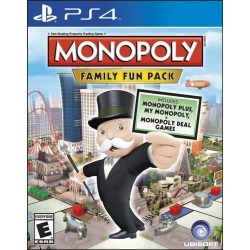 Monopoly Family Fun Pack found on GamingScroll.com from Game Stop US for $24.99
