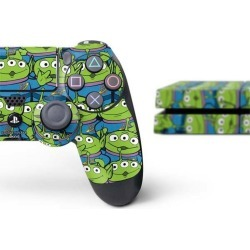 Toy Story Alien Collage Skin Bundle for PlayStation 4 PS4 Accessories Sony GameStop found on Bargain Bro Philippines from Game Stop US for $39.99