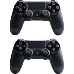 PlayStation 4 DualShock 2-for-1 Controller Blast from the Past Preowned Bundle PS4 PlayStation 4 Dualshock Controller Available At GameStop Now!