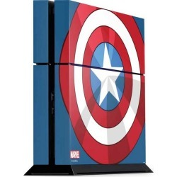 Captain America Emblem Console Skin for PlayStation 4 found on GamingScroll.com from Game Stop US for $24.99