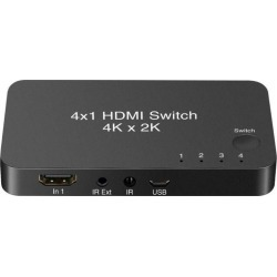 U & I Entertainment YoK Universal 4-Port HDMI 4K Switch Xbox One Available At GameStop Now!