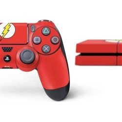 The Flash Emblem Skin Bundle for PlayStation 4