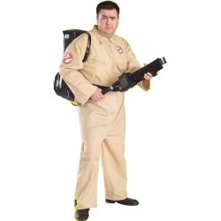 Ghostbuster Adult Plus Size Costume