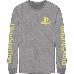 Bio World Merchandising PlayStation Buttons Long Sleeve T-Shirt Available At GameStop Now!