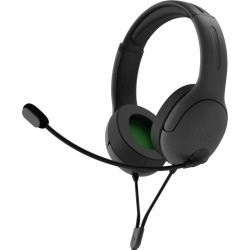Xbox One LVL40 Black Wired Stereo Gaming Headset PDP Available At GameStop Now!