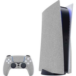 Diamond Silver Glitter Skin Bundle for PlayStation 5 PS5 Accessories Sony GameStop found on Bargain Bro Philippines from Game Stop US for $39.99