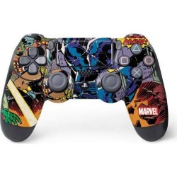 Black Panther vs Six Million Year Man Controller Skin for PlayStation 4 PS4 Accessories Sony GameStop