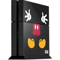 Mickey Mouse Body Console Skin for PlayStation 4 PS4 Accessories Sony GameStop found on GamingScroll.com from Game Stop US for $19.99