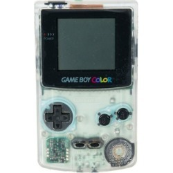 Retro Nintendo Game Boy Color Clear Ice GameStop Premium Refurbished Nintendo Available At GameStop Now!