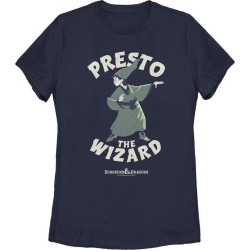 Dungeons and Dragons Presto the Wizard Ladies T-Shirt Fifth Sun GameStop