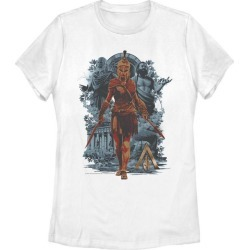 Assassin's Creed Odyssey Kassandra the Eagle Bearer Ladies T-Shirt Fifth Sun GameStop found on Bargain Bro India from Game Stop US for $21.99