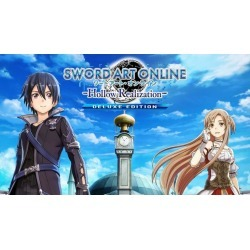 Bandai Namco Entertainment America Inc. Digital Sword Art Online: Hollow Realization Deluxe Edition Nintendo Switch Download Now At GameStop.com!